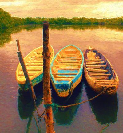 Трите лодки - Изображение 1